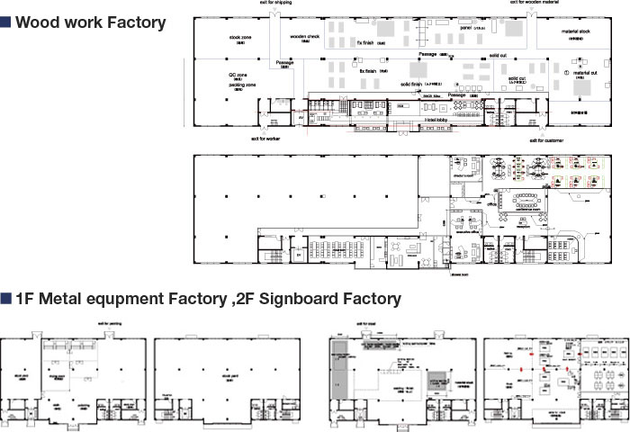 Order furniture production | Design and construction of Store and ...